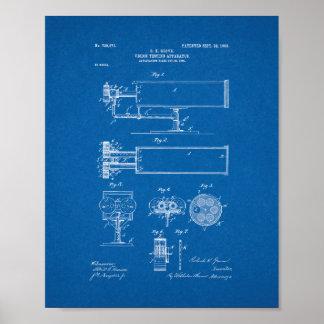patente del aparato de la Vision-prueba - modelo Impresiones