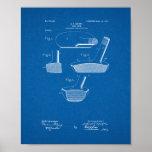 Patente del club de golf - modelo poster