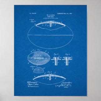 Patente del fútbol - modelo póster