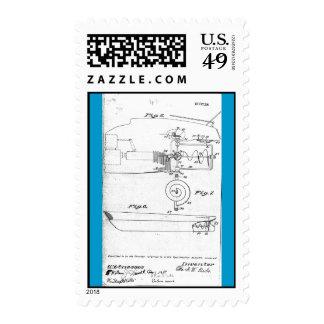 Patente del infante de marina de Otto Riecks Envio
