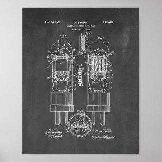 patente del tubo de vacío del Múltiple-electrodo - Impresiones