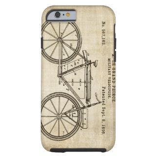 Patente del velocípedo - 1896 funda para iPhone 6 tough
