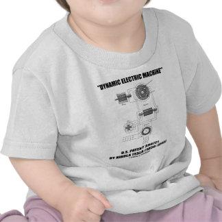 Patente eléctrica dinámica 390721 de los E.E.U.U.  Camiseta