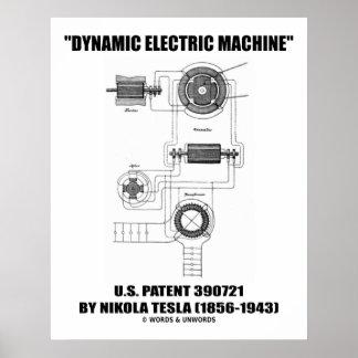 Patente eléctrica dinámica de los E E U U de la m Impresiones