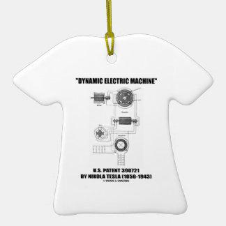 Patente eléctrica dinámica Nikola Tesla de los E E Ornamento Para Arbol De Navidad