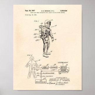 Patente Peper viejo del cambiador de calor del Póster