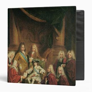 """Patentes de concesión de Louis XV de la nobleza Carpeta 1 1/2"""""""