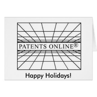 Patents Online's xmascard! Card
