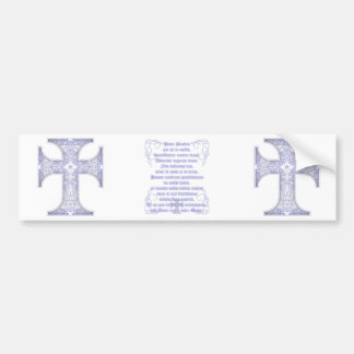 Pater Noster Bumper Sticker