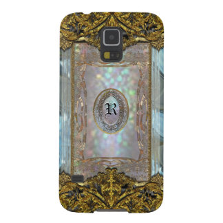 Paternost Glitzy Ritz Girl Victorian  Monogram Galaxy S5 Case