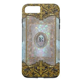 Paternost Glitzy Ritz Monogram iPhone 8 Plus/7 Plus Case