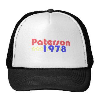 Paterson 1978 gorro