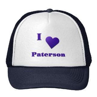Paterson -- Azul de medianoche Gorros Bordados
