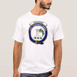Paterson Clan Badge T-Shirt