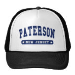 Paterson New Jersey College Style tee shirts Trucker Hat