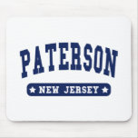 Paterson New Jersey College Style tee shirts Mouse Pad
