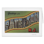 Paterson, New Jersey - Large Letter Scenes Card