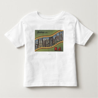 Paterson, New Jersey - Large Letter Scenes Shirt
