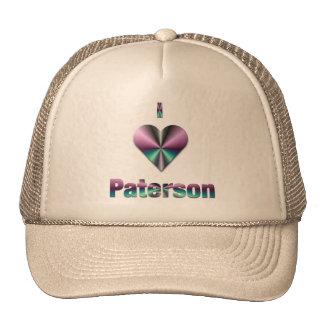 Paterson -- Púrpura y turquesa Gorras De Camionero
