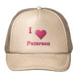 Paterson -- Rosas fuertes Gorros Bordados
