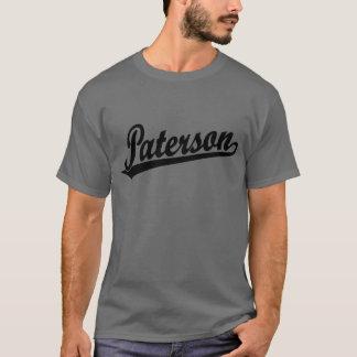 Paterson script logo in black T-Shirt
