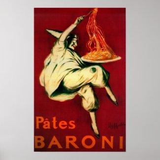 Pates Baroni Vintage PosterEurope Poster
