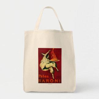 Pates Baroni Vintage PosterEurope Tote Bag