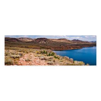 Path along Blue Mesa Reservoir Business Card Template