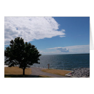 Path Along Lake Ontario Card