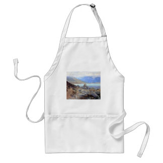 Path along the Shore by Guy Rose Adult Apron