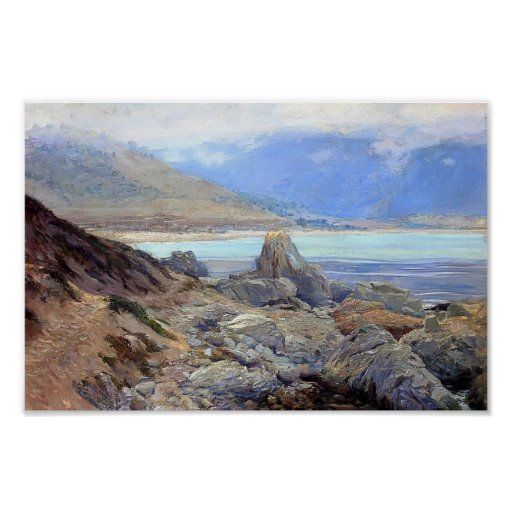 Path along the Shore by Guy Rose Print