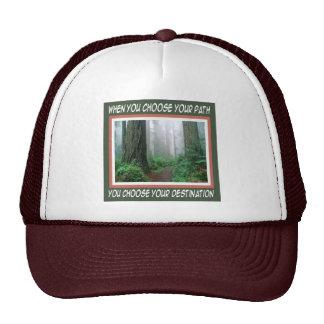 Path and Destination Cap Trucker Hat
