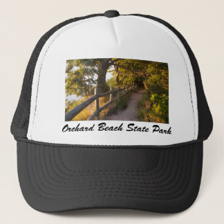 Path at Orchard Beach State Park Trucker Hat