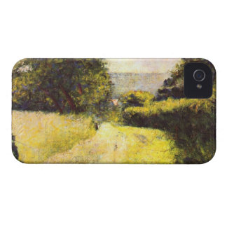 Path by Georges Seurat iPhone 4 Cover