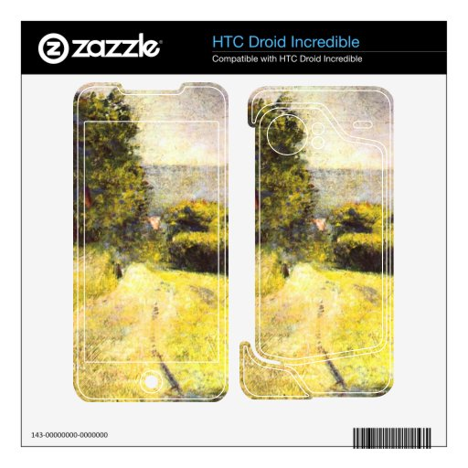 Path by Georges Seurat HTC Droid Incredible Skin