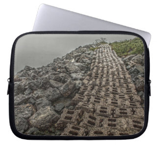 Path by the Bay Laptop Sleeve