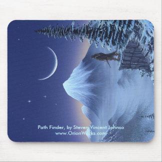 Path Finder Path Finder by Steven Vincent Joh Mouse Pad