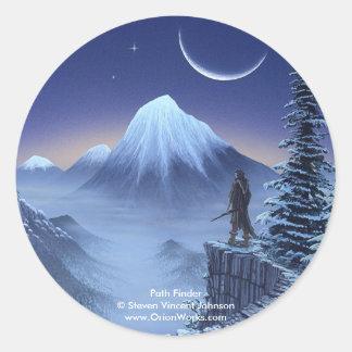 Path Finder, Path Finder Steven Vincent Johnso... Classic Round Sticker