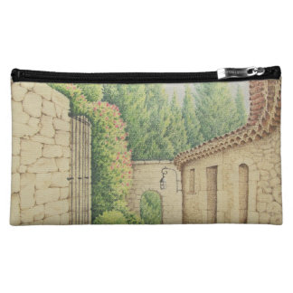 Path in Eze, Cote D'Azur In Pastel Cosmetic Bag