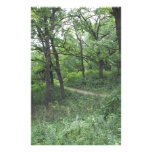 Path in Mines of Spain near Dubuque Iowa Personalized Stationery
