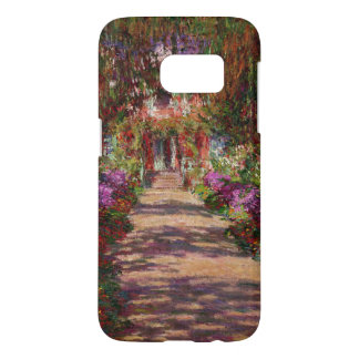 Path in Monet's Garden, Giverny by Claude Monet Samsung Galaxy S7 Case
