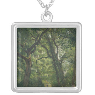 Path in the Forest, 1864 Personalized Necklace