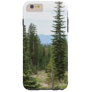 Path in the Forest Mt Shasta Phone Case