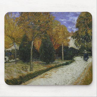 Path in the Park at Arles, 1888 Mouse Pad
