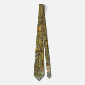 Path in the Woods by Vincent van Gogh, Vintage Art Tie