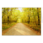 Path in the Woods ~ Greeting Card