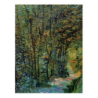 Path in the Woods, Vincent van Gogh Postcard