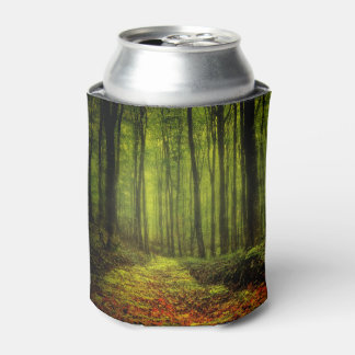 Path In Woods Can Cooler