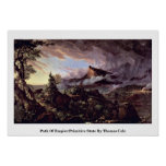 Path Of Empire:Primitive State By Thomas Cole Posters