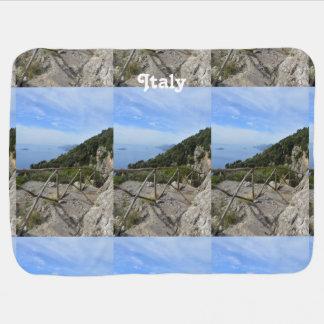Path of Gods Amalfi Baby Blanket